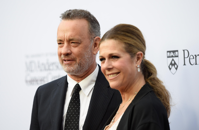 Tom Hanks Rita Wilson, Tom Hanks wife, Tom Hanks and Rita Wilson