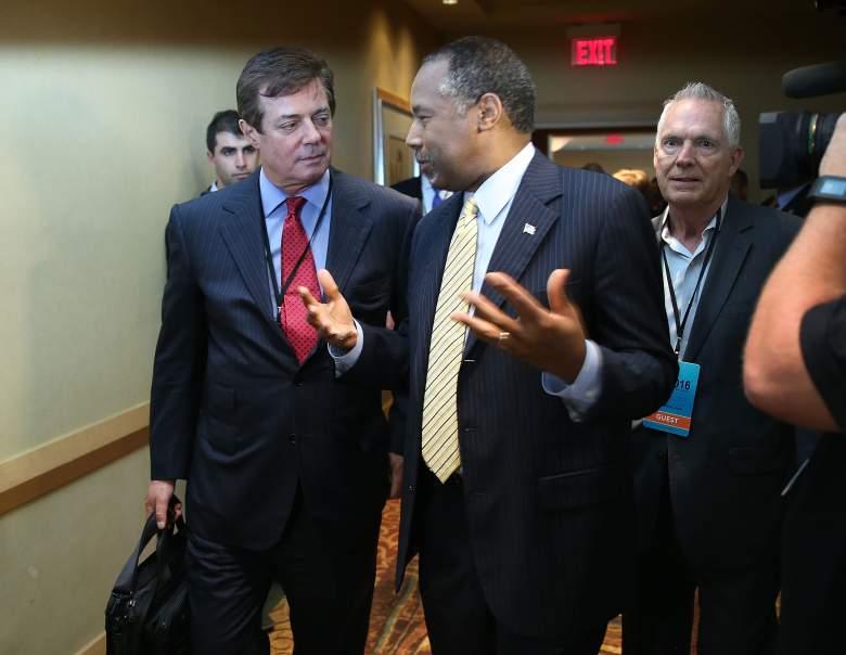 Paul Manafort Ben Carson, Donald Trump Ben Carson, Paul Manafort lobbying