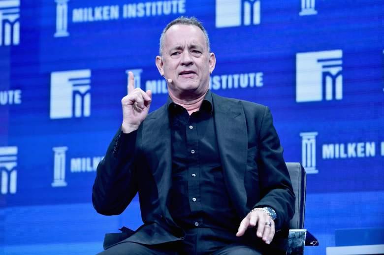 Tom Hanks speaks, Tom Hanks talk, Beverly Hilton