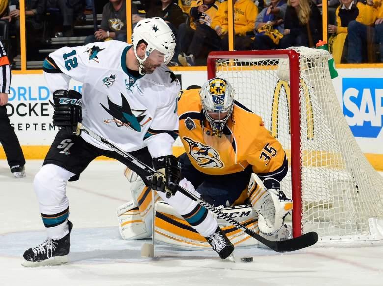San Jose Sharks, Nashville Predators, NHL playoffs