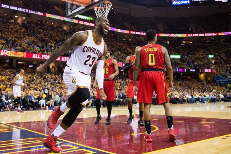 Cleveland Cavaliers, Atlanta Hawks, NBA playoffs