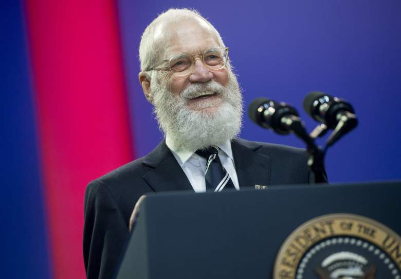David Letterman beard, David Letterman retirement, David Letterman Washington