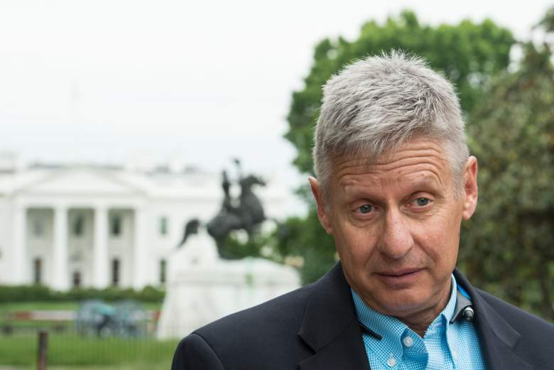 Gary Johnson foreign policy, Gary Johnson military, Libertarian nominee Gary Johnson