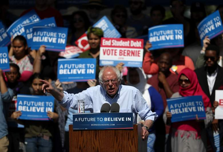 Bernie Sanders, California GOP Republican polls, latest current polling numbers