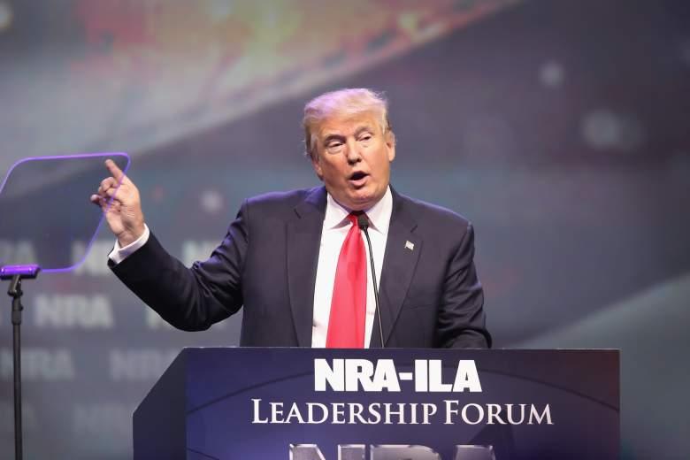 Donald Trump, Donald Trump NRA, Donald Trump National Rifle Association, Donald Trump NRA speech,