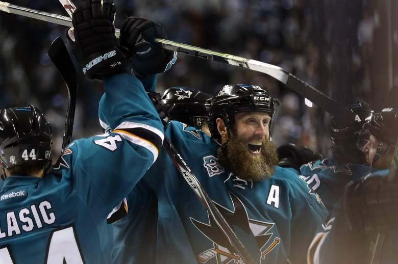 Joe Thornton, San Jose Sharks, Stanley Cup, Sharks