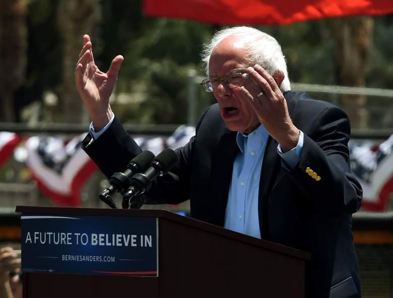 Bernie Sanders slogan, Bernie Sanders hands, Bernie Sanders hair
