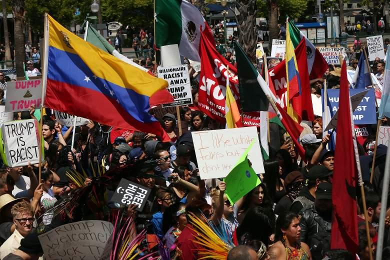 Donald Trump protesters, Donald Trump rally, Donald Trump San Diego, Donald Trump protest