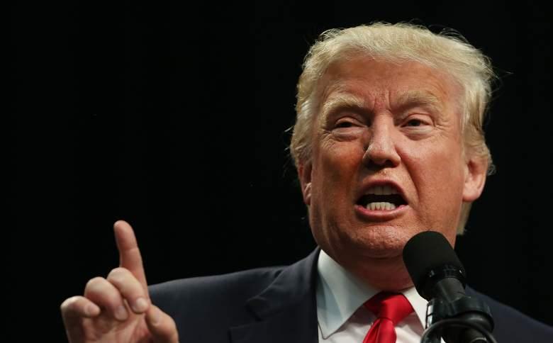Donald Trump San Diego, Donald Trump immigration, Donald Trump