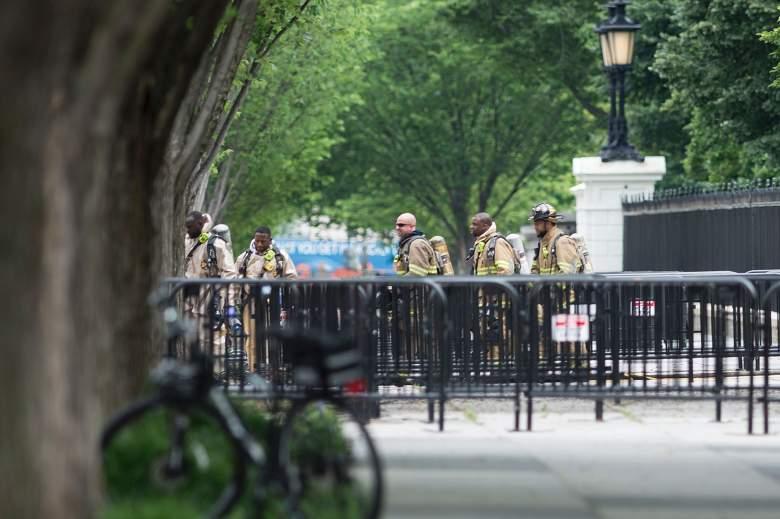 White House Lockdown, White House fire, White House package