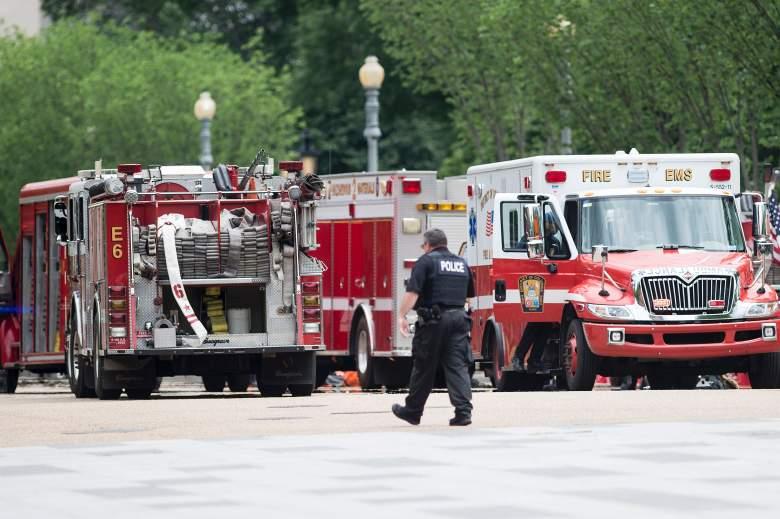 White House, Obama White House emergency, Washington DC