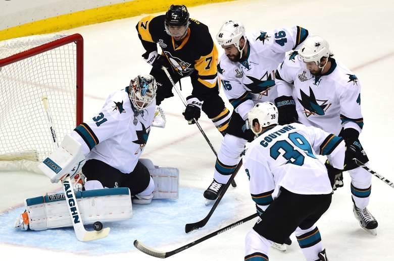 Martin Jones, San Jose Sharks, Stanley Cup Final