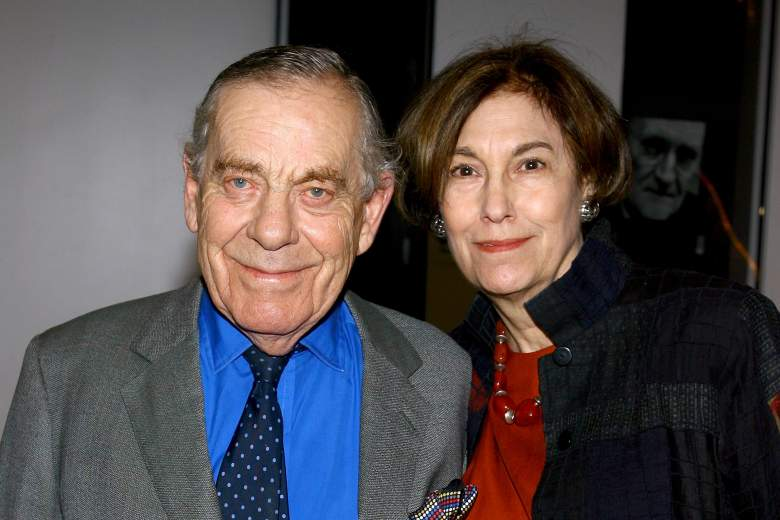 """NEW YORK - FEBRUARY 11: Television personality Morley Safer and Jane Fearer attend a screening of HBO Films """"Longford"""" at MoMA's Celeste Bartos Theater on February 11, 2006 in New York City. (Photo by Scott Wintrow/Getty Images)"""