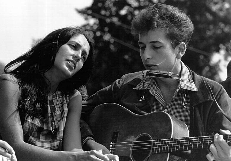 Bob Dylan, Joan Baez, net worth