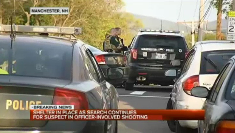 Cop shooting Manchester New Hampshire Suspect