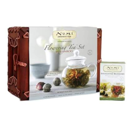 Numi Organic Tea Flowering Tea Gift Set