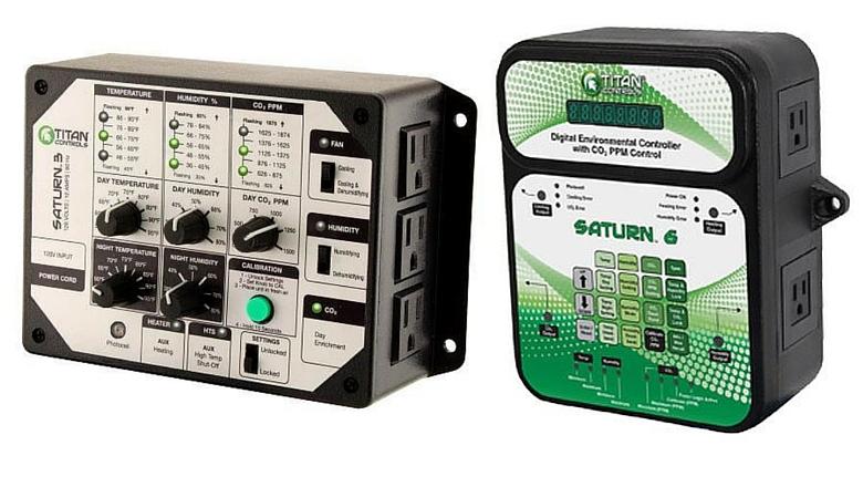 titan controls saturn 3 controller temperature humidity co2