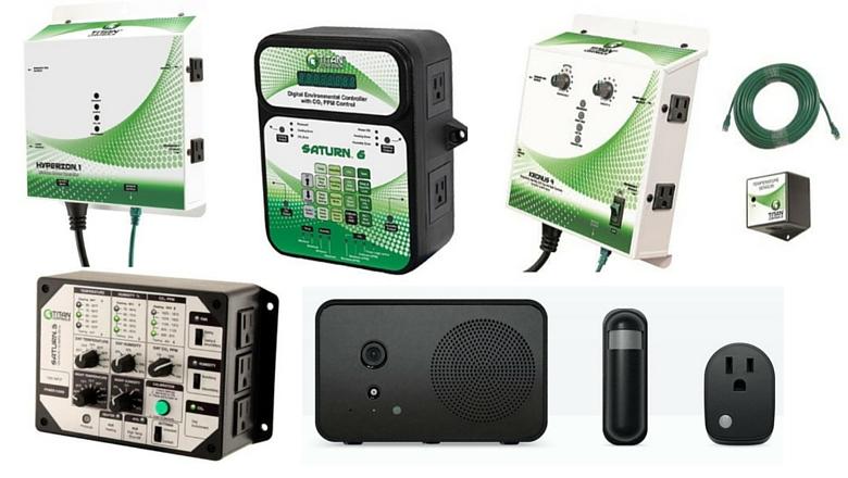 environmental hydroponic marijuana controller
