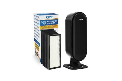 Black True hepa air purifier