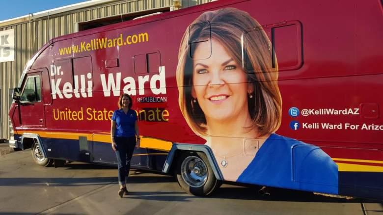 Kelli Ward primary, Kelli Ward John McCain, Kelli Ward polls