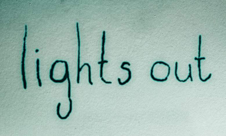 lights out movie, lights out film, lights out horror movie