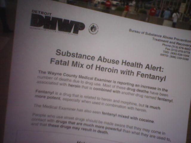 fentanyl warning