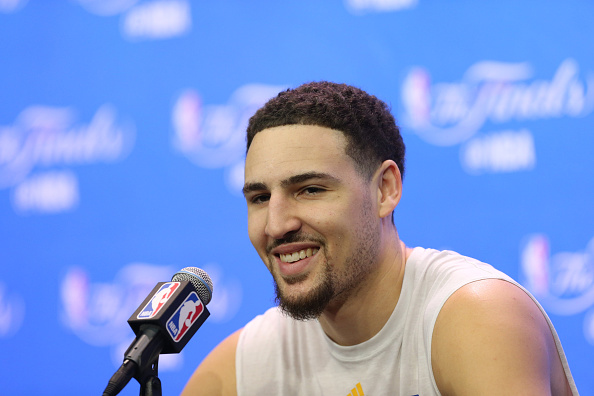 Thompson, not his two-time MVP teammate, makes the most money from the Warriors. (Getty)