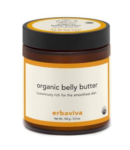 Erbaviva Belly Butter, best organic baby shower gift