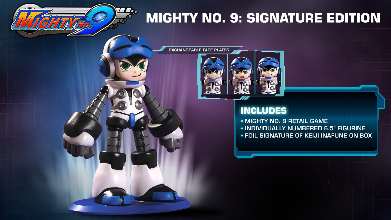 Mighty No 9 Signature Edition