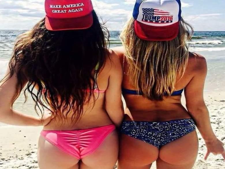 donald trump, trump supporters, babesfortrump, hot girls, #trumpgirlsbreaktheinternet, break the internet, hot girl photos, twitter, babes for trump, female voters