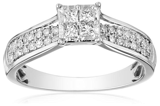 princess cut engagement rings, best engagement rings
