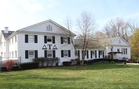 The Delta Tau Delta fraternity house. (Twitter)