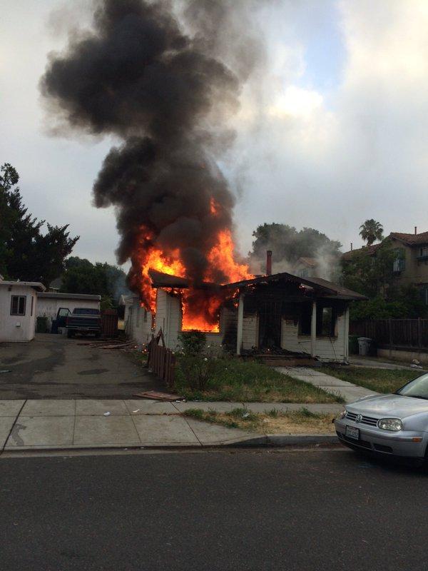 Fremont California, Fremont Standoff, California fire