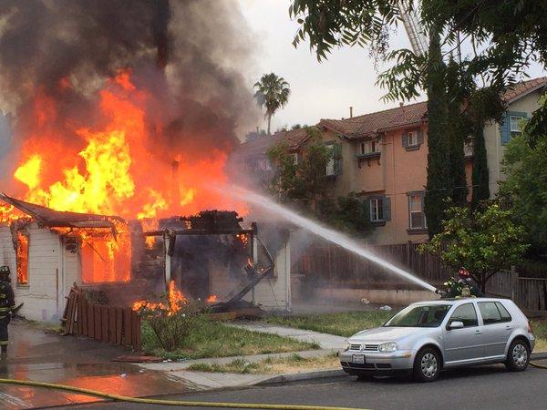 Fremont Fire Department, Fremont California, Fremont standoff
