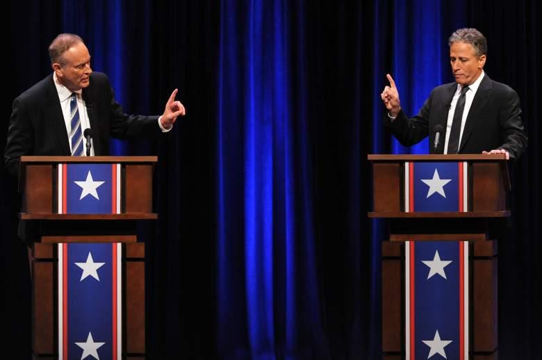 Bill O'Reilly, Bill O'Reilly and Jon Stewart, Jon Stewart Bill O'Reilly debate
