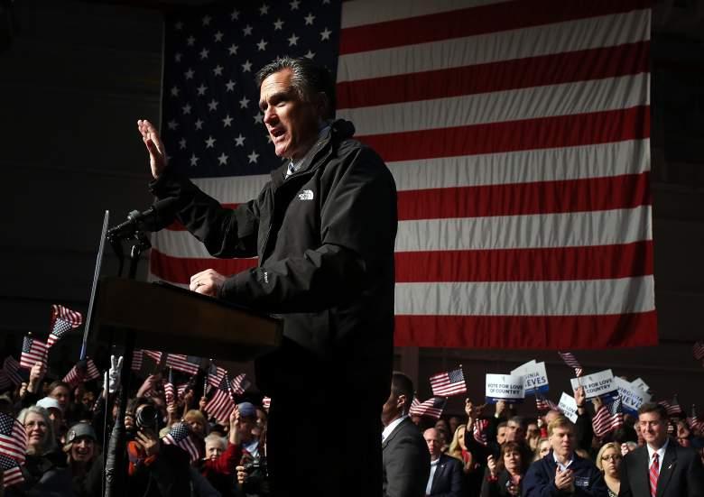 Mitt Romney Virginia, Mitt Romney Smithfield Foods Hangar, Mitt Romney Newport