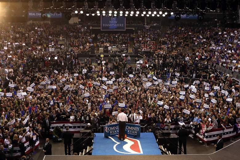 Mitt Romney New Hampshire, Mitt Romney Manchester, Mitt Romney 2012 election