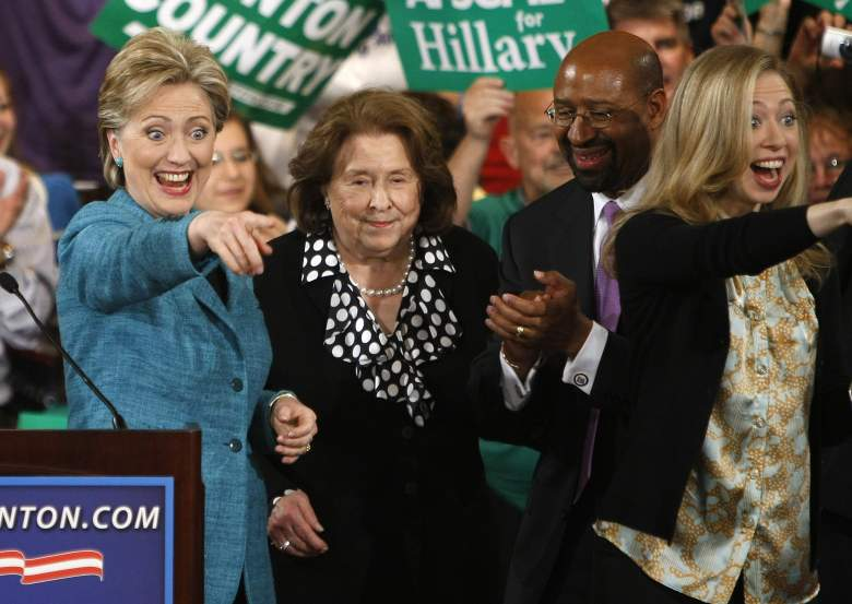 Hillary Clinton mom, Hillary Clinton mother, Dorothy Rodham, Hillary Clinton family