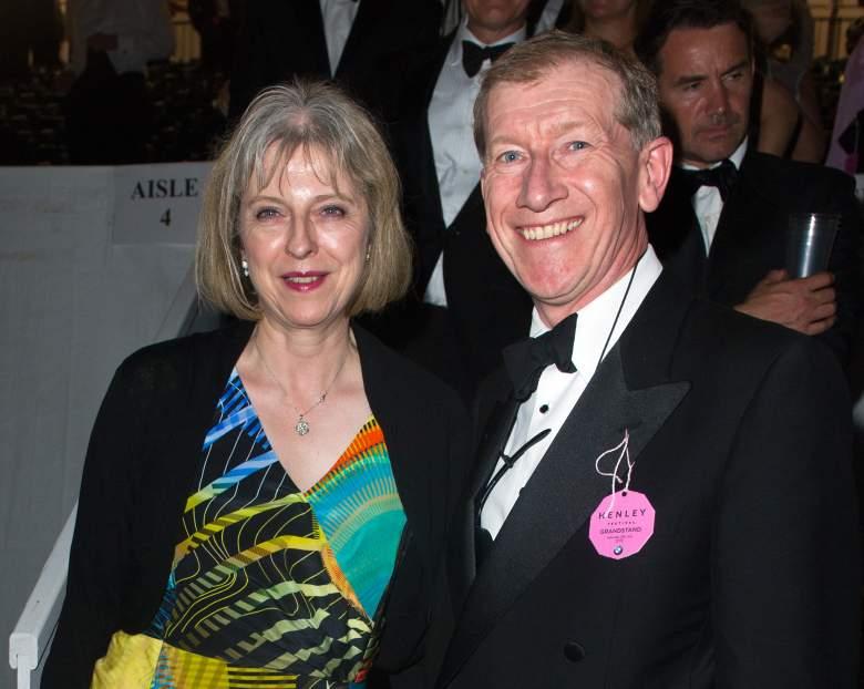 Philip John May, Theresa May husband, U.K. Prime Minister race