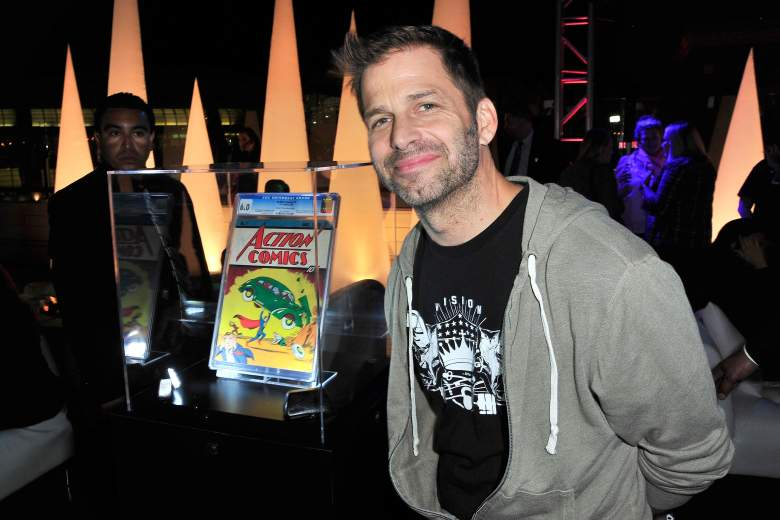 Zack Snyder, Justice League director, Batman v Superman director