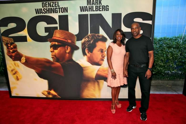 Denzel Washington wife, Pauletta Washington, Denzel Washington family