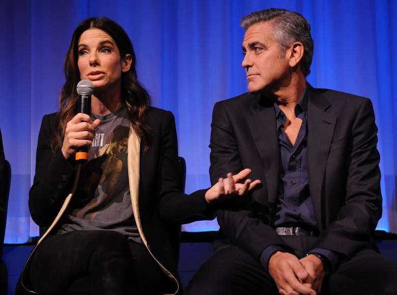 George Clooney and Sandra Bullock, George Clooney Gravity, George Clooney space movie, Sandra Bullock