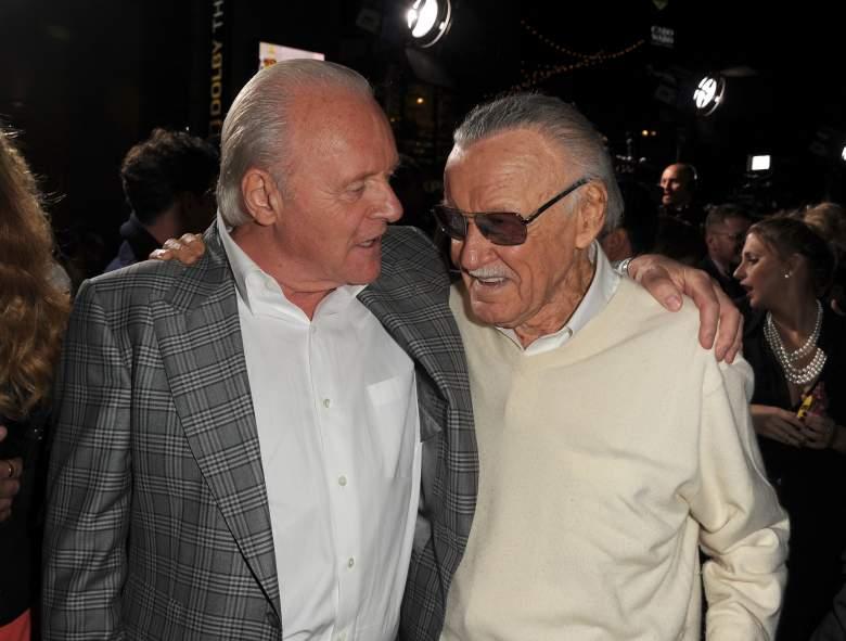 Thor 2 premiere, Stan Lee, Anthony Hopkins