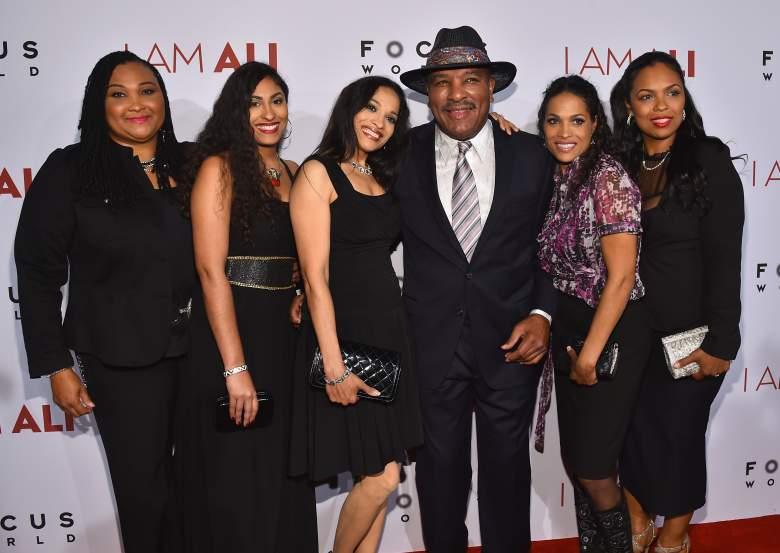 Muhammad Ali daughters, Muhammad Ali family, Muhammad Ali brother