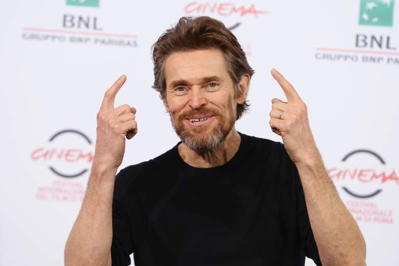 Willem DaFoe, Willem DaFoe crazy, Justice League cast