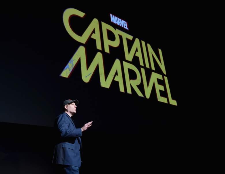 Kevin Feige, Marvel Studios, Captain Marvel