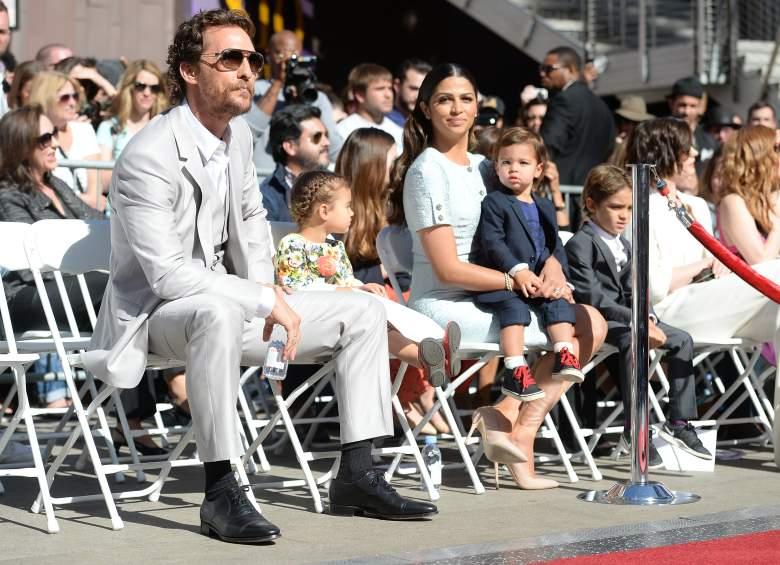 Matthew McConaughey family, Camila Alves family, Matthew McConaughey kids
