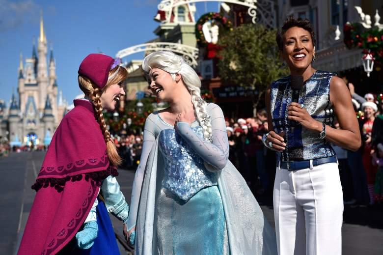 Robin Roberts Net Worth, Robin Roberts, Frozen Disney World