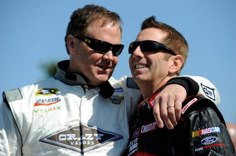Mike Wallace and Greg Biffle, Mike Wallace, attack, Mike Wallace beat