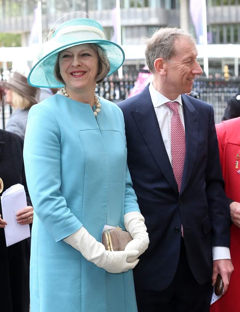Theresa May husband, Theresa May, Philip John May